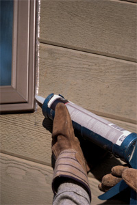 Home maintenance caulking