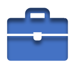 Blue Icon of a Briefcase linked to the Miscellaneous Coverages Page